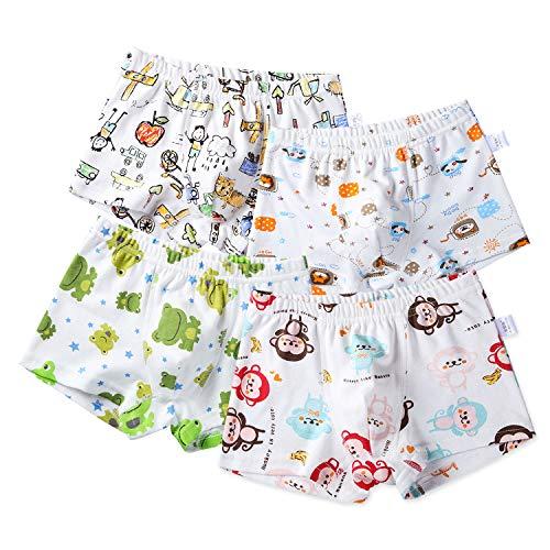 SIVICE Kids Boxer Briefs Underwear Little Boys Shorts Pattern Baby Animal Panties Children