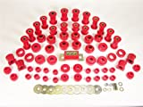 Prothane 1-2009 Red Total Kit with Transmission Mount for YJ
