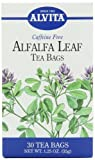 Alvita Tea Bags, Alfalfa Leaf, Caffeine Free, 30 tea bags [1.25 oz (35 g)] (Pack of 3)