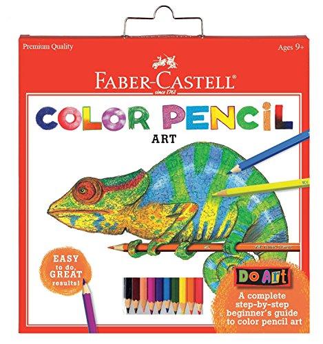 Faber-Castell - Do Art Colored Pencils Art Kit - Premium Kids Crafts