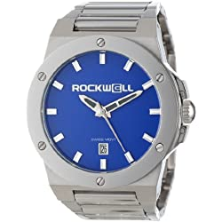 Rockwell Time Men's CM114 Commander Stainless Steel Silver Champagne Watch