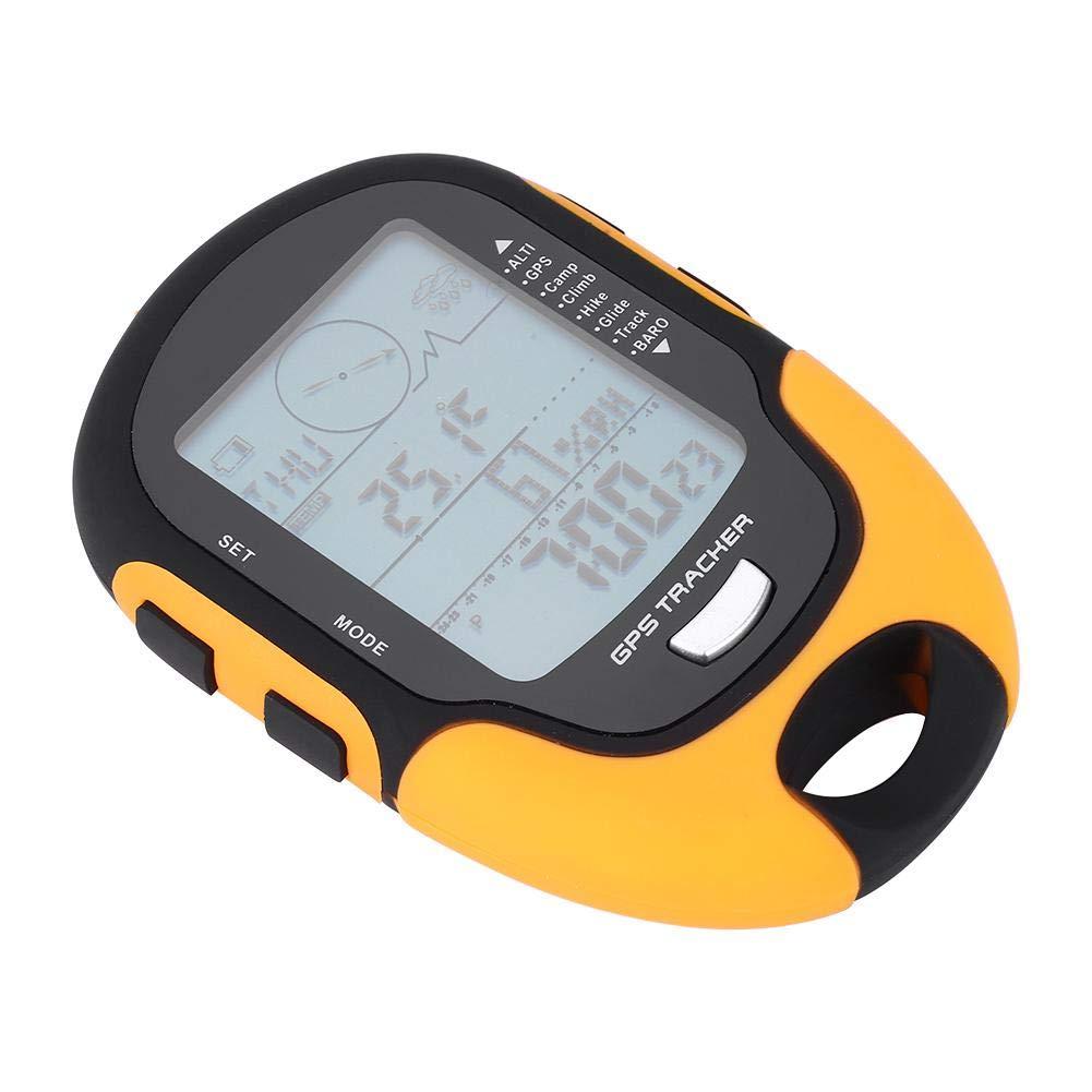 Navigation Receiver Handheld USB Rechargeable Digital Altimeter Barometer for SUNROAD