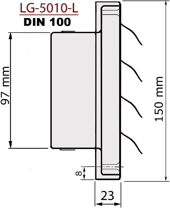 Schlauchschellen aus Stahlrohr Sicutool Sechskant Mundst/ück Ausf/ührung vernickelt /Öffnung 32x36 mm Bohrung f/ür Hebeldurchmesser 13,4 mm