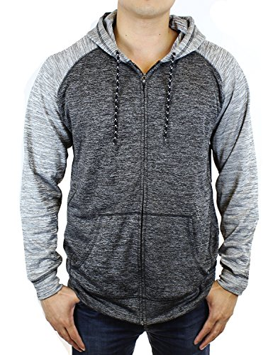 SPLIT Gravity Fleece Hooded Jackets (Large, (Gravity Mens Jacket)