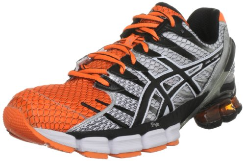 mens asics asics gel kinsei 2 orange