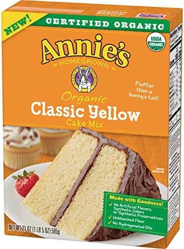 Annie's Classic Yellow Cake Mix