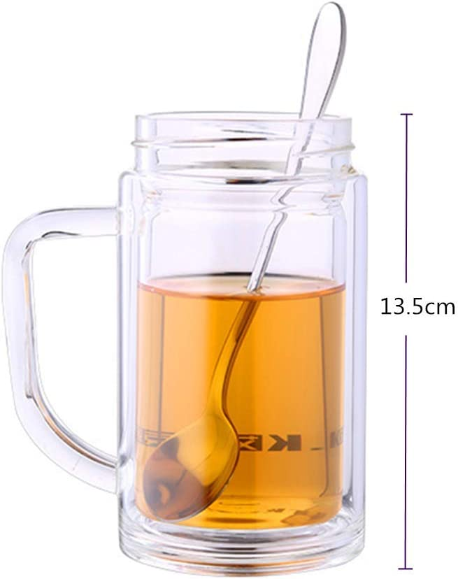 Fyuan Cuchara de hielo Ice-Spoon-Long Handle Stainless Steel para té, café, batidos, postre, paquete de 4, 17.3cm: Amazon.es: Hogar