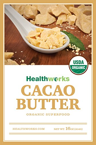 Healthworks Cacao Butter Raw Organic, 2lb (2 1lb Packs) by Healthworks (Image #3)