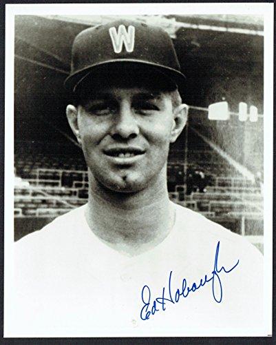 Washington Senators Baseball Photo - Ed Hobaugh signed autograph auto 8x10 Washington Senators Baseball Photo