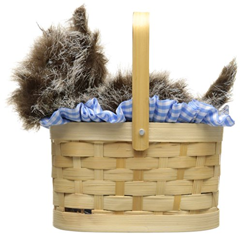 Costumes Basket Doggie (Rasta Imposta Doggie Basket, Blue, One)