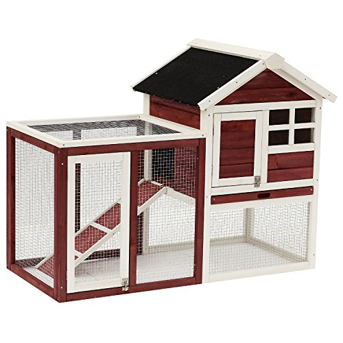 Tall rabbit hutch