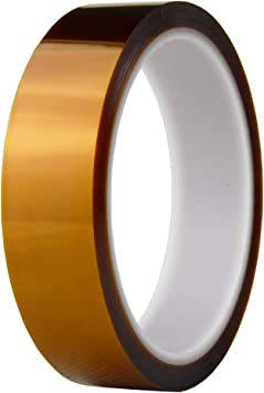 1 Roll Kapton tape High Temperature Resistant 25mm*100ft