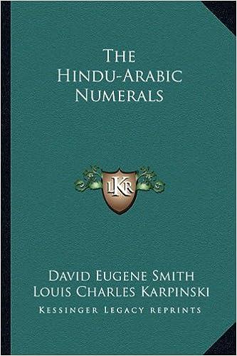 what is hindu arabic numerals