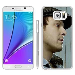 GavinDegrawCapShirtLookBristle White Special Custom Picture Design Samsung Galaxy Note 5 Phone Case
