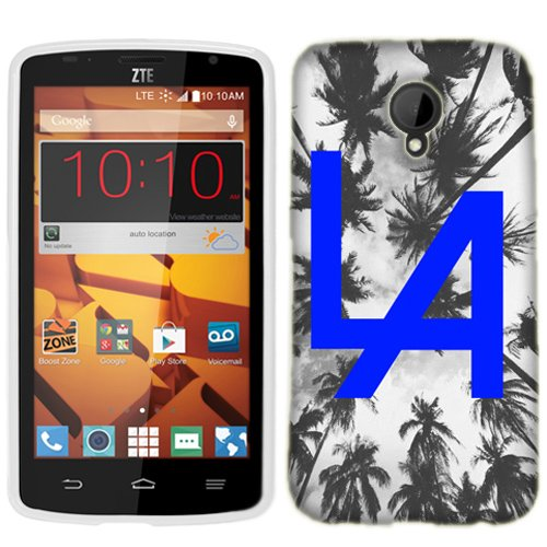 huge selection of 13df0 b4f27 Amazon.com: ZTE N817 Case, Blue LA Cover for ZTE N817 Phone: Cell ...