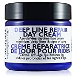 Carapex Deep Line Repair Day Cream, Anti-aging Daily Moisturizer, Gentle Natural Face Cream for Sensitive Skin, Dry, Normal Skin, Unscented, No Paraben, 2oz 60ml