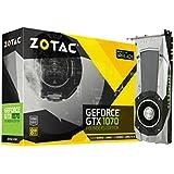 ZOTAC GeForce GTX 1070 Founders Edition, ZT-P10700A-10P, 8GB GDDR5 PCI Express 3.0 Dual-link DVI-I Display Port, HDMI