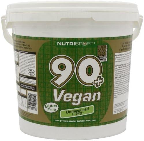 Nutrisport 90+ Protein Vegan Unflavoured 2500g