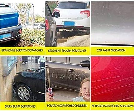 Qyoung Nano Magic Scratch Remover Ropa para Coche, Superficie de Metal Universal Pintura de Luz Arañazos Esmalte Instantáneo, Smart Car Beauty and