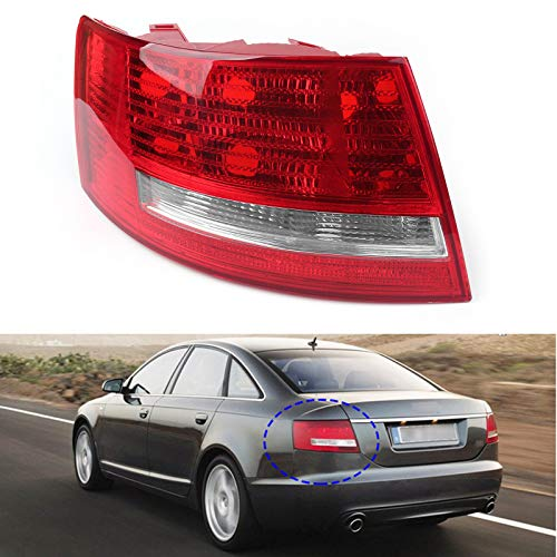 Left Driver'S Side Tail Light For 2005-2008 Audi A6 Quattro S6 4F5 945 095M