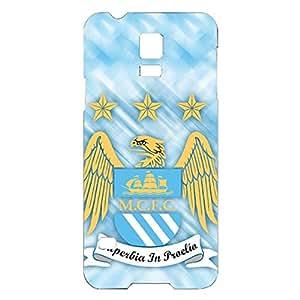 Manchester City Football Club Phone Case 3D Classical Fashion Hard Plastic Case for Samsung Galaxy S5 Mini Manchester City FC Logo Series