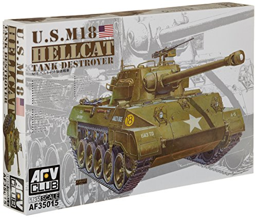 AFV Club Models 1/35 M18 Hellcat (M18 Hellcat Tank Destroyer)