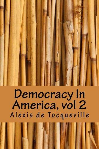 Democracy In America, vol 2 pdf epub