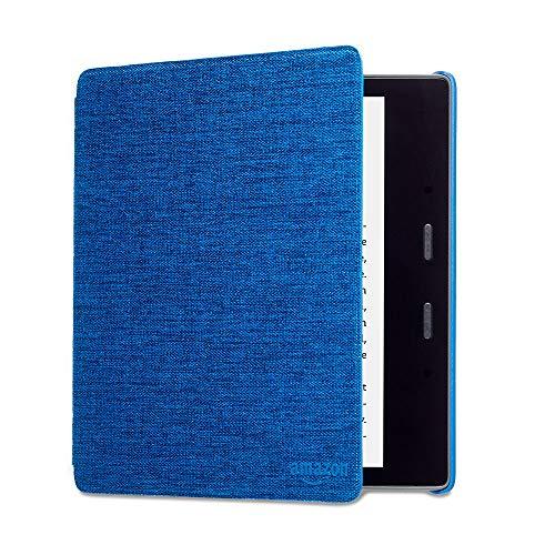 Funda Amazon de tela que protege del agua para Kindle Oasis , azul — únicamente compatible con el modelo de la 9.ª generación (modeli de 2017) y 10.ª generación (modelo de 2019)