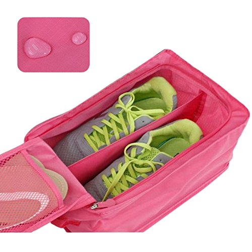 Waterproof Container Sac Rose Rangement Pouch Organizer Chaussures Boîte Protector Portable De Gosear® vwW8SOqx