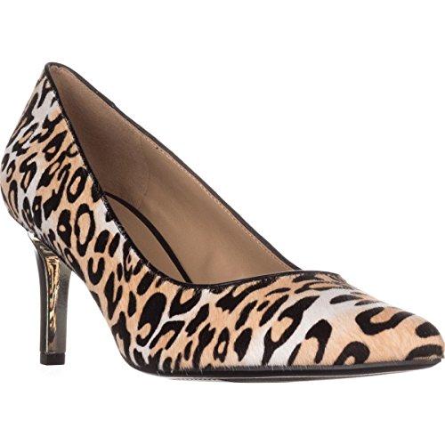 Naturalizer Natalie 2 Comfort Heels, Cheetah, 7 WW US - Natalie Pumps