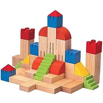 Amazon Com Plantoys Plan Preschool Creative Blocks 35 Mm