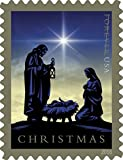Nativity USPS Forever First Class Postage Stamp U.S. Holy Family Holiday Christmas Sheets (20 Stamps) (Booklet of 20 stamps)