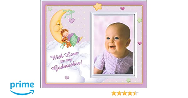 Amazon.com : With Love to my Godmother (Girl) Picture Frame Gift ...