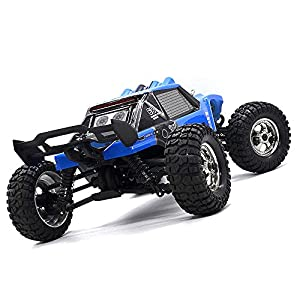 Zerospace Keliwow Waterproof RC Truck Desert Off-road RC Car 1:12 4WD 2.4GHz Scale Fast Speed 25MPH RC Buggy Truck RTR (Waterproof, Blue)