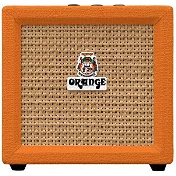 Orange Amplification Crush Mini 3-Watt Battery Powered Guitar Combo Amplifier (Orange)