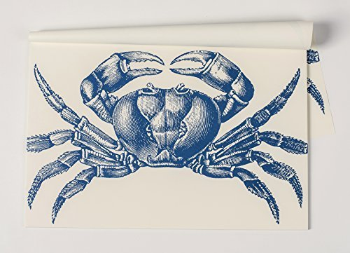 Crab Paper Placemat 30 Sheets American Made