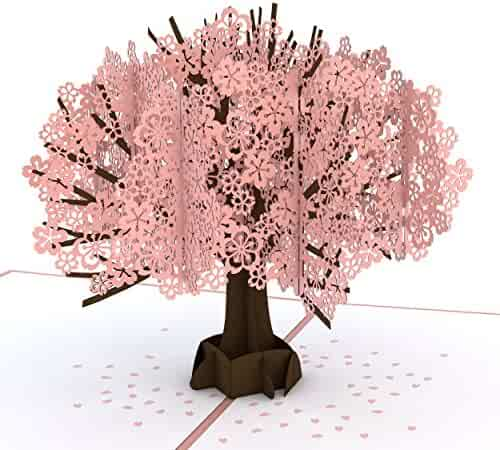 Lovepop Cherry Blossom Pop Up Card, Mother's Day Card, Pop Up Greeting Cards, Spring Card, Tree Card and Birthday Pop Up Card