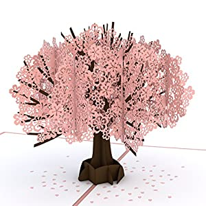 Lovepop Cherry Blossom Pop Up Card, Summer Card, Pop Up Greeting Cards, Card for Mom, Spring Card, Tree Card, Nature Card and Birthday Pop Up Card