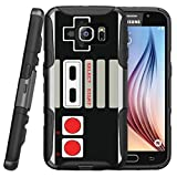 Cheap MINITURTLE Case Compatible w/ Samsung Galaxy S7 Heavy Duty Case | Galaxy S7 Holster Case [Clip Armor] Premium Defender Case Hard Shell Silicone Interior w/ Stand & Holster Game Controller