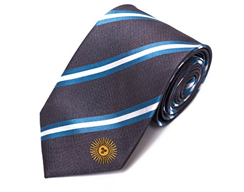 """Argentina Tie (3.25"""" Width) 100% Woven Silk"""