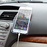 Universal Car Cell Phone Holder Black Mobile Phone Charge Box Holder Organizer Car Seat Bag Storage