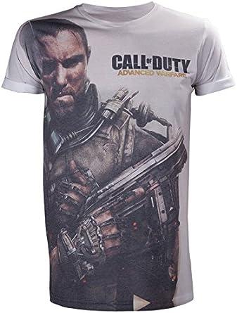 Call Of Duty Advanced Warfare T-Shirt -L- AOP Subl [Importación Alemana]: Amazon.es: Videojuegos