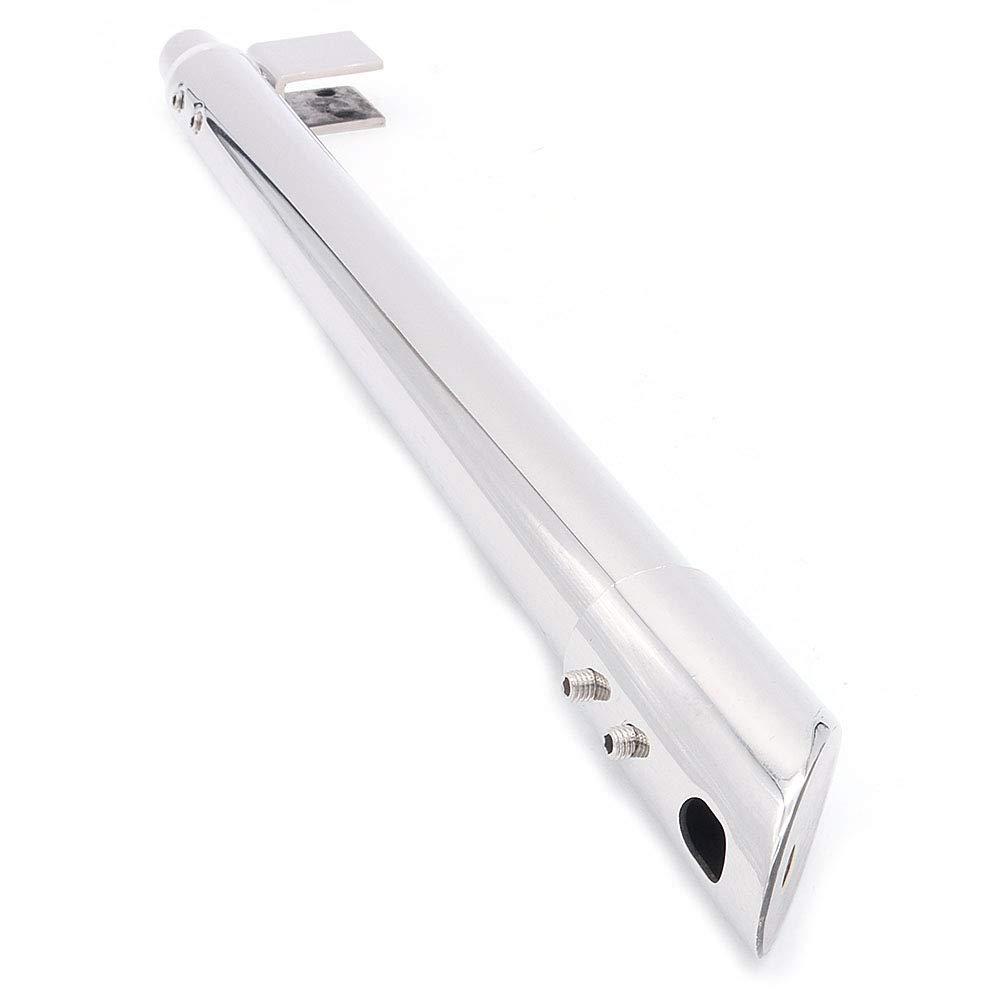soporte de ducha barra de soporte de 25 mm para cristal de 8 mm a 12 mm brazo de apoyo de acero inoxidable para cuarto de ba/ño NUZAMAS barra telesc/ópica de 300 mm a 500 mm mampara de ducha