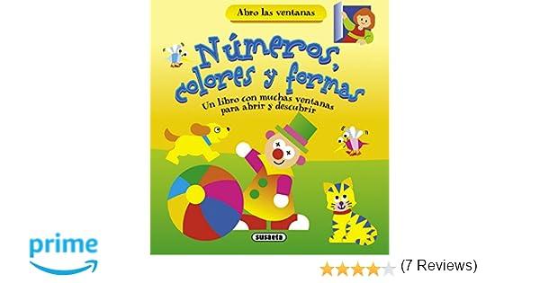 Números, colores y formas (Abro las ventanas): Amazon.es ...
