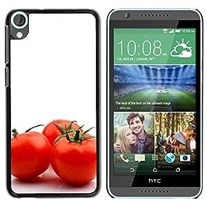 TopCaseStore / la caja del caucho duro de la cubierta de protección de la piel - Three tomato - HTC Desire 820