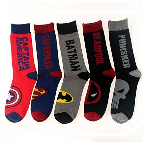 captain america dress socks - 9