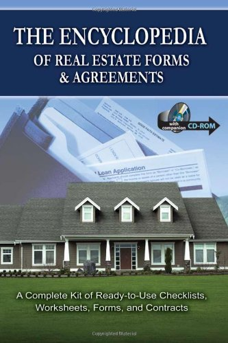 The Encyclopedia of Real Estate Forms & Agreements: A Complete Kit of Ready-to-Use Checklists, Worksheets, Forms, and Contracts - With Companion - Warranty Agreement
