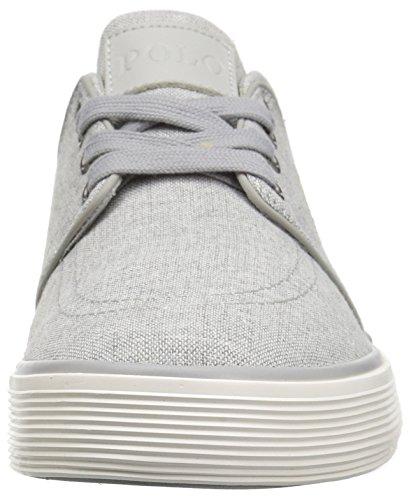 Polo Ralph Lauren Mens Faxon Sneaker Basso Grigio 7
