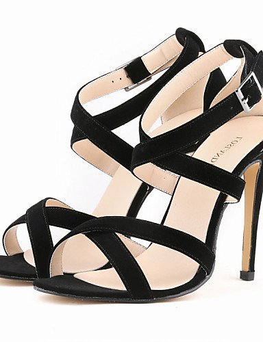 Stiletto Sandals Women's Heel Shoes ShangYi Heels Open Fabric Green Colors Party Toe More qgtp8