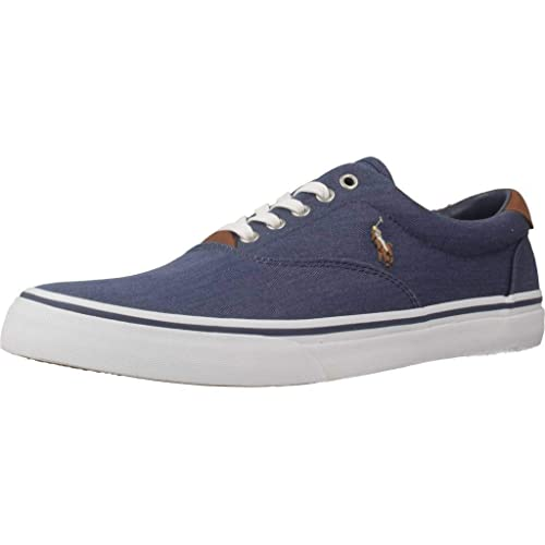 Polo Ralph Lauren Thorton Twill N Navy Zapatillas para Hombre: Amazon.es: Zapatos y complementos